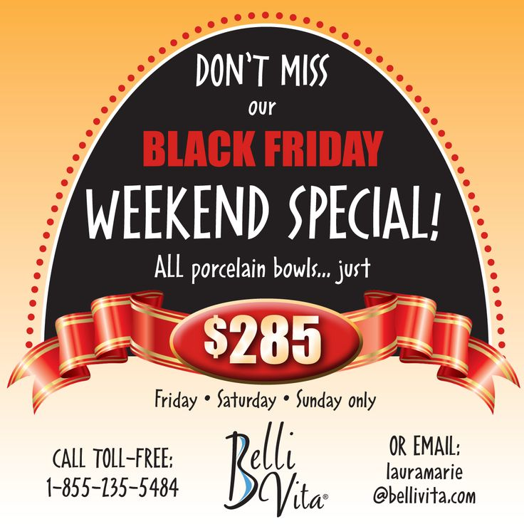 BLACK FRIDAY WEEKEND SPECIAL!!! Today, tomorrow and Sunday only… ALL hand-painted porcelain keepsake belly bowls (made from the shape of your pregnant belly casting) are just $285. That's almost HALF off our regular price! Call us toll-free to lock in your special discount now (no matter what stage of pregnancy you're in…!): 1-855-235-5484  #blackfriday #sale #pregnant #bellybump #bellybowls