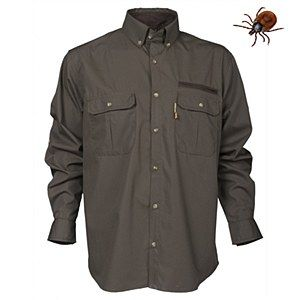 Rovince Uni-Shirt Ergoline made from the Patented ZECK-Protek treatment which is effective against Ticks, Midges, Mosquitos and many other biting insects.