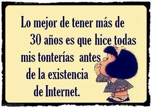#humorTIC Mafalda cumple 50 años ;-) pic.twitter.com/BetS6EAEi8