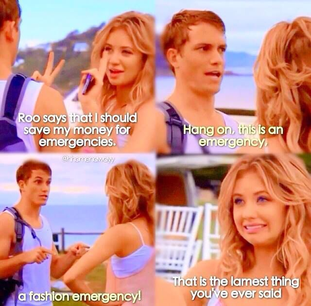 Kassandra Clementi and Jake Speer who plays the character, Maddy Osborne and Oscar MacGuire from Home and Away