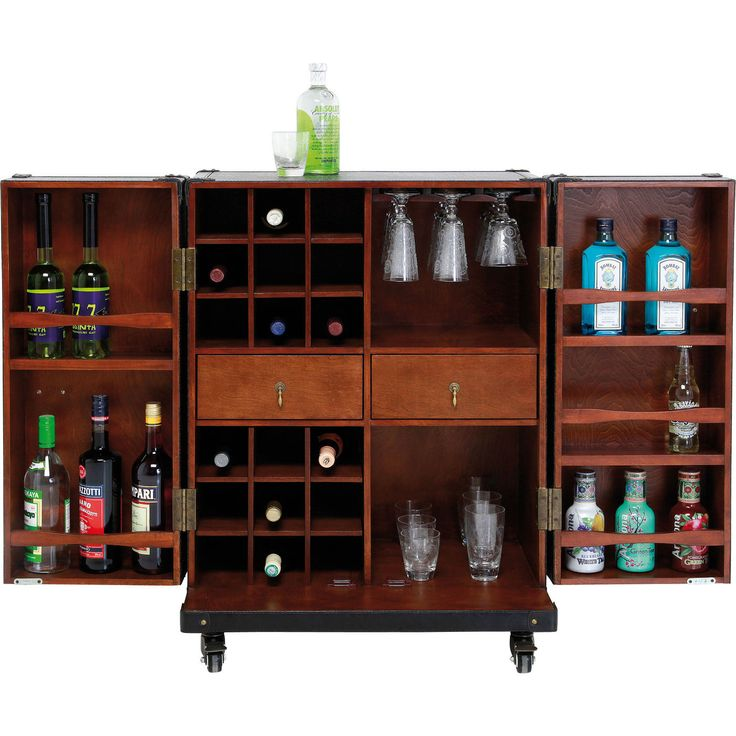 Coffre-bar Colonial PM - KARE Design