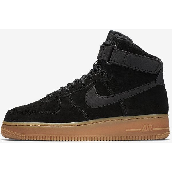 Nike Air Force 1 High SE Women's Shoe. Nike.com ($110) ❤ liked on Polyvore featuring shoes, nike footwear, nike and nike shoes