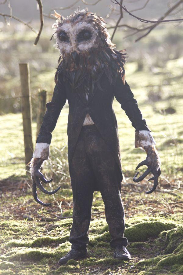 owl-man- Scary halloween costume