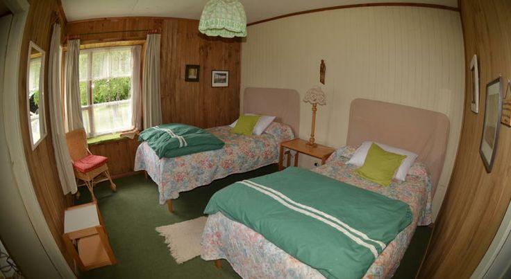 Triple room at the hostal. http://hostallagringacarioca.cl/