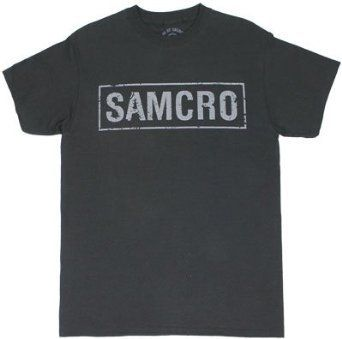 Save $13.00 on Sons of Anarchy Samcro Banner T-shirt; only $16.99 + Free Shipping