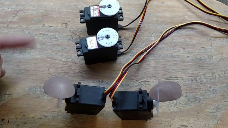 Animatronic Tail and Ear Servo Controller.