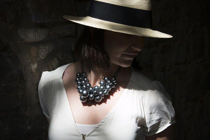 Náhrdelník perly hrozen #sperky #jewelry #nahrdelnik #necklace #perly