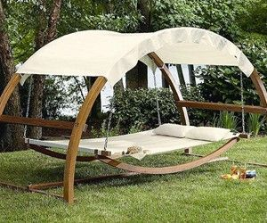 Outdoor Patio Arch Swing Other interesting gadgets and gizmos. NSFW