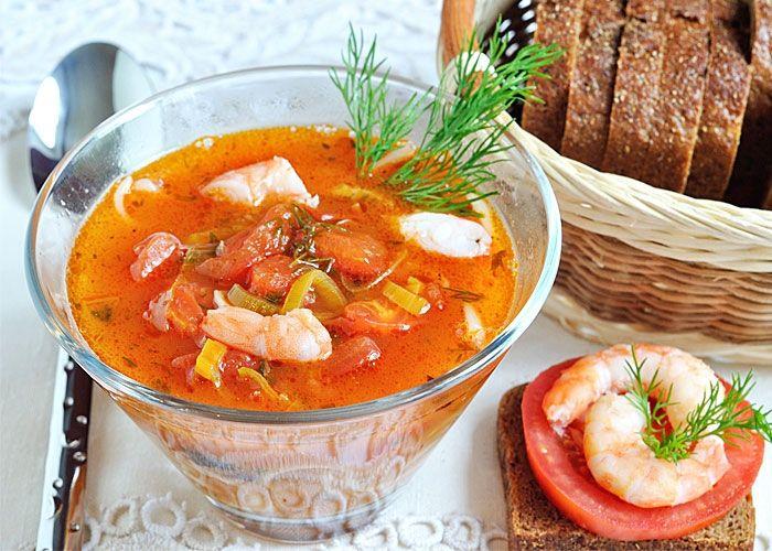 Томатный суп с лапшой рецепт с фото
