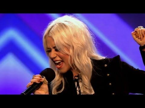 """Amelia Lily's audition - The X Factor 2011 - 16 years old and she ROCKED Janis Joplin's """"A Piece of My Heart"""" - resembles Jane Fonda"""