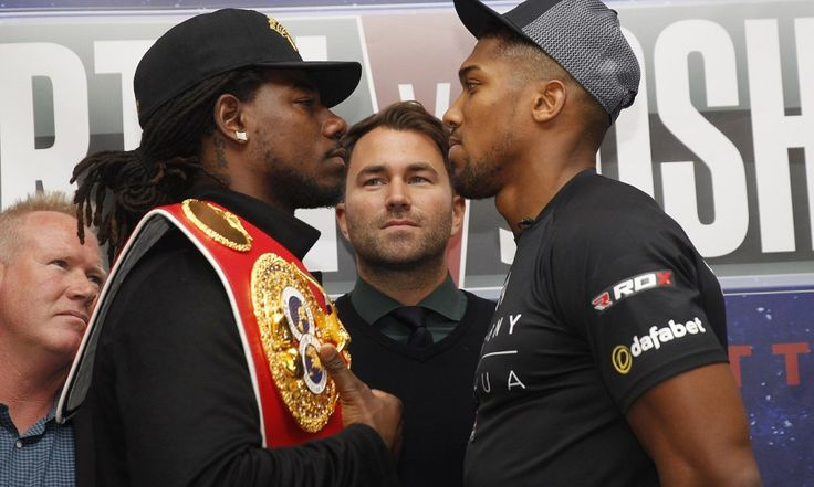 Unfazed Martin ready to steal Joshua's fans