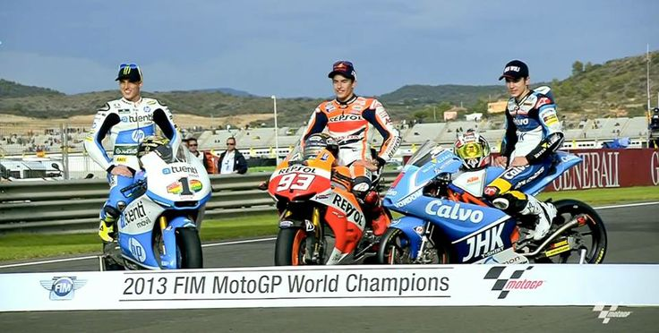 2013 FIM Moto GP World Champions