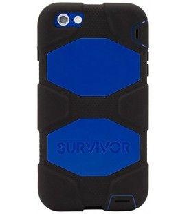 Survivor para iphone6 plus - negro/azul/negro