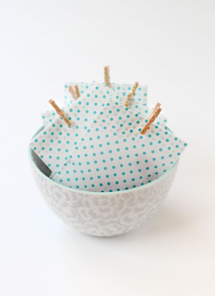 Mini Glitter Clothespins