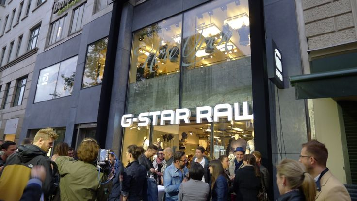 IVANKA for G-STAR RAW store Berlin.