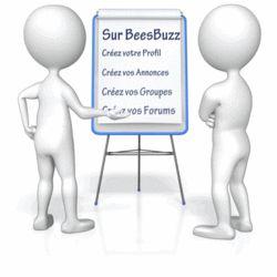 BeesBuzz Le Réseau Professionnel                  La plateforme de Communication                  Qui protège votre vie Privée