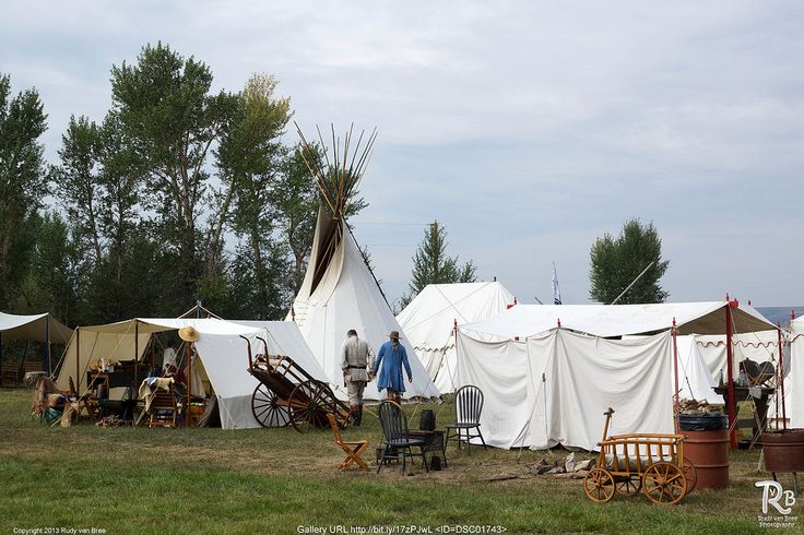 mountain man rendezvous camp