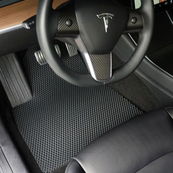 All Weather Floor Mats For Tesla Model 3 Tesla Model Tesla Tesla Accessories