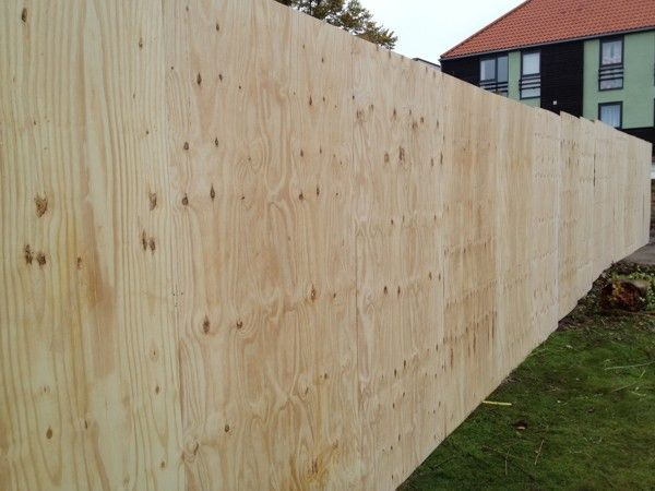 Plywood Fence Cool Things Steel Fence Panels Diy