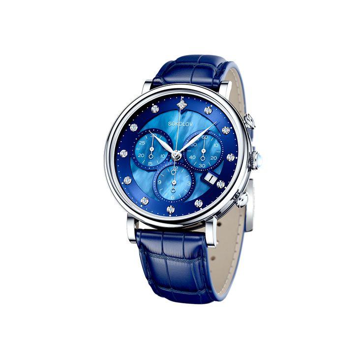 Женские серебряные часы арт. 126.30.00.000.05.04.2