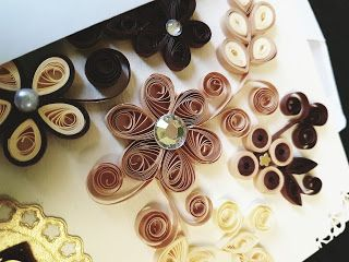 Handmade by Alex: Quilling card