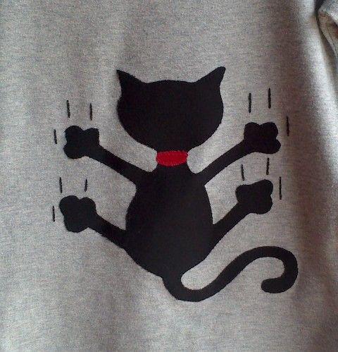 Siluetas de gatos para patchwork - Imagui