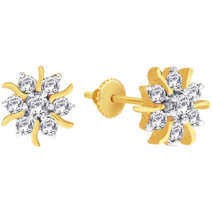 Nakshatra Diamond Earring NERA172BSI-GH