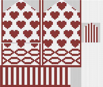 valentine knitting patterns free knitting patterns 2 Valentine+Mitten