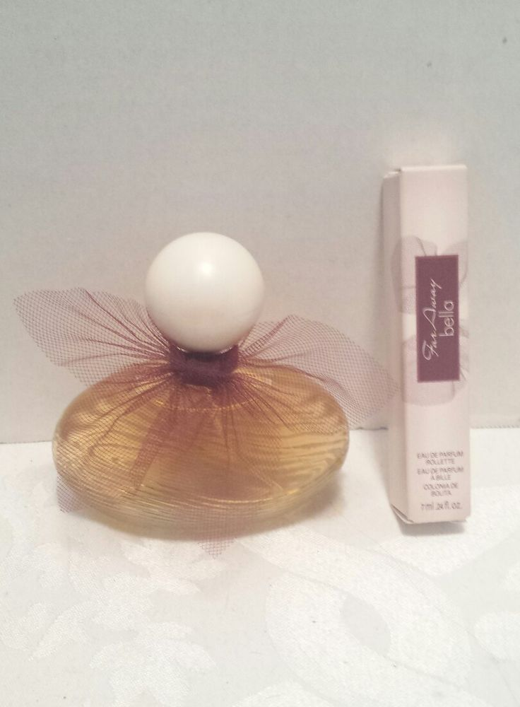 Avon FAR AWAY BELLA 1.7 oz and Rollette roller ball EDP Eau de Parfum .24 fl oz #Avon