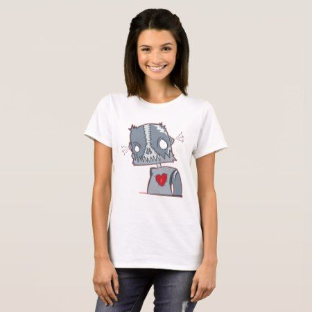Frankenbot Illustration T-Shirt - tap, personalize, buy right now!