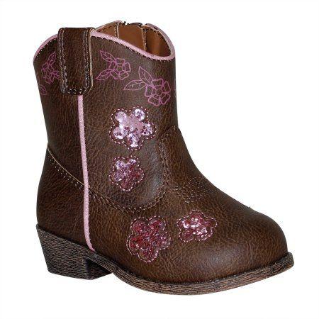 Garanimals Infant Girls Cowboy Boot, Infant Girl's, Size: 2, Brown