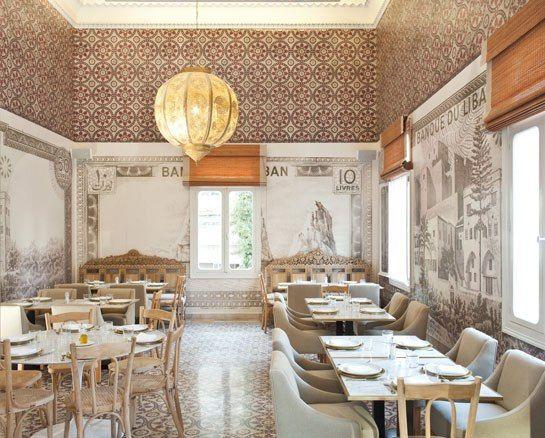 colori. e stile, molto moresco. Liza Asseily's New Restaurant, Liza Beirut, Opens in Lebanon