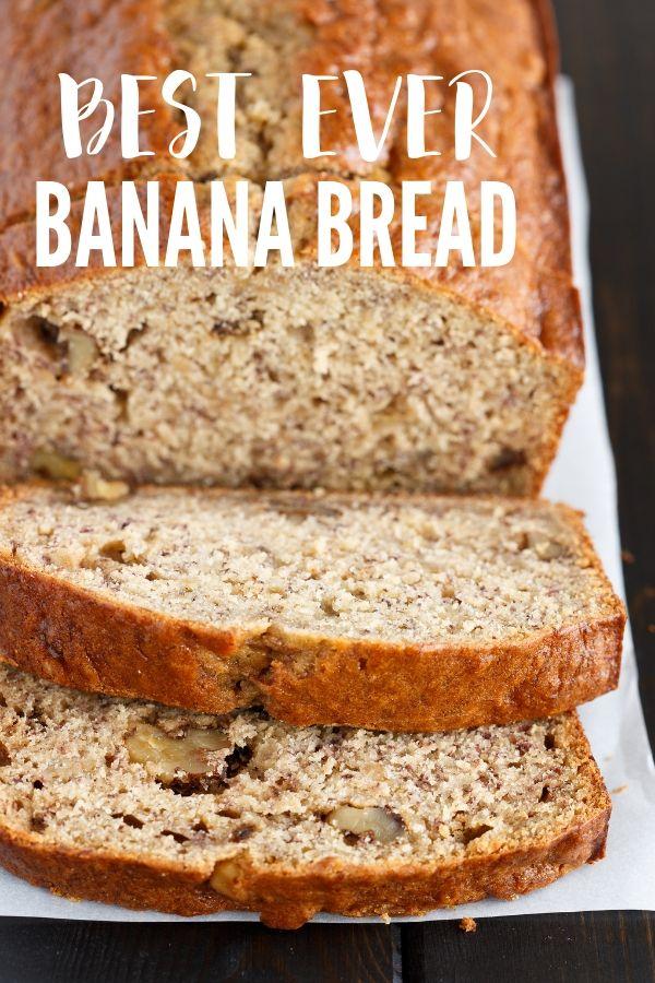 The Best Ever Banana Bread Recipe Banana Bread Recipes Banana Nut Bread Best Banana Bread