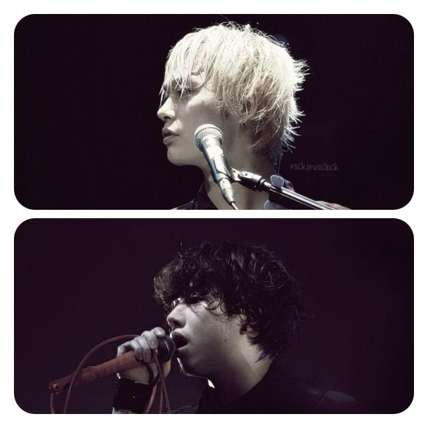 Toru and Taka from One Ok Rock