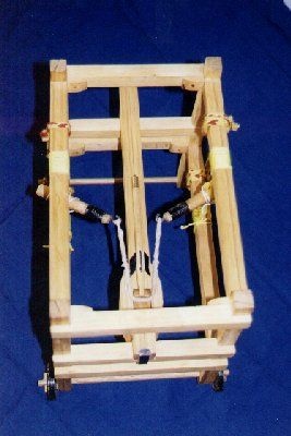 Tea Trolley the espringal (top view).... photo by Russell