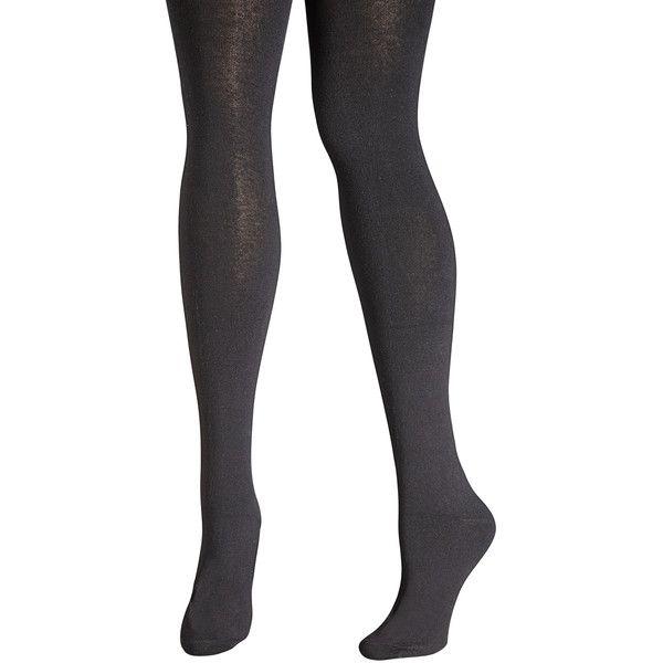 Avenue Basic Sweater Tight (26 AUD) ❤ liked on Polyvore featuring intimates, hosiery, tights, black, plus size, black tights, black opaque tights, opaque stockings, plus size stockings and opaque tights