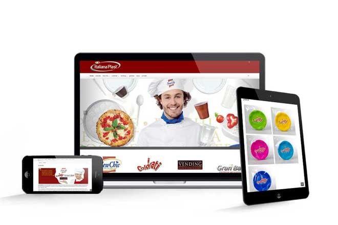 progettazione sito web Italiana Plaststudio grafico lagartixa design
