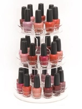 nail polish storage 10 handpicked ideas to discover in. Black Bedroom Furniture Sets. Home Design Ideas