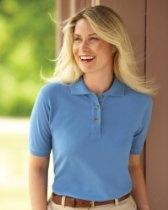 Harvard Square Ladies 100% Cotton Pique Sport Shirt. HS152