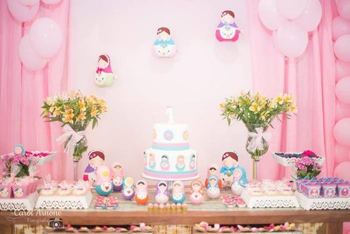 festa infantil matrioska - Pesquisa Google