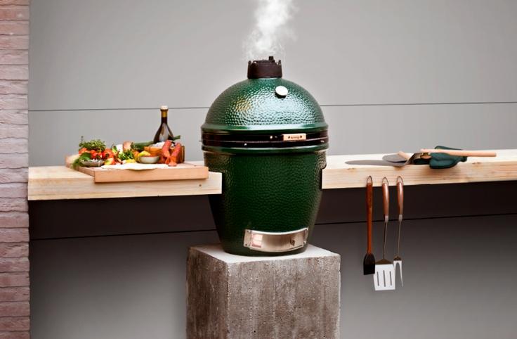 Wees vooral creatief met je Big Green Egg en zet het buiten koken geheel naar eigen hand.