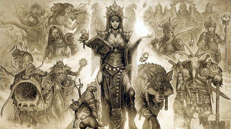 Los héroes del folclore ruso, convertidos en personajes de videojuego - RT