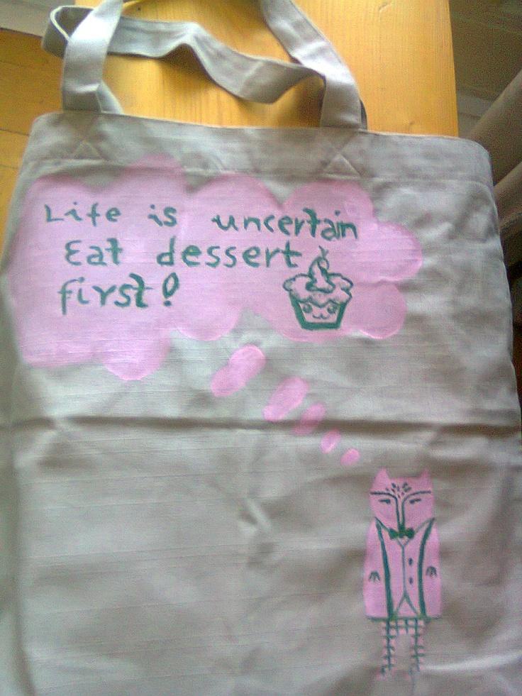 fresh to death shopping bag :)