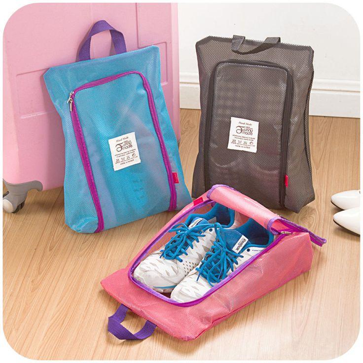 XB-SNB049 Zapatos Del Organizador Del Almacenaje Cesta Impermeable mujer hombre bolsa de viaje Bolso Necesidades artículos Accesorios Suministros Del Producto
