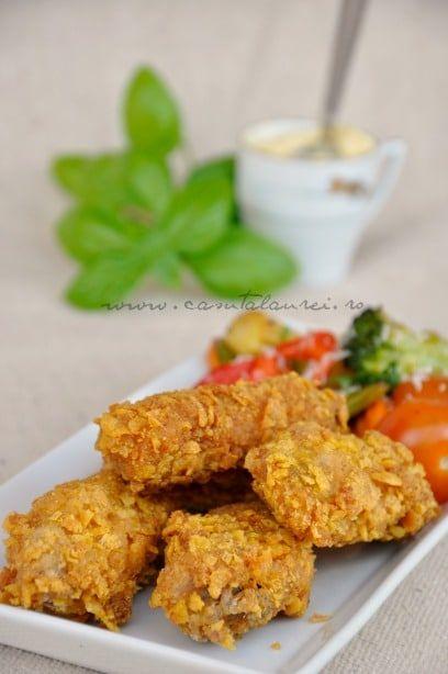 Aripioare de pui crocante – KFC style via @casutalaurei
