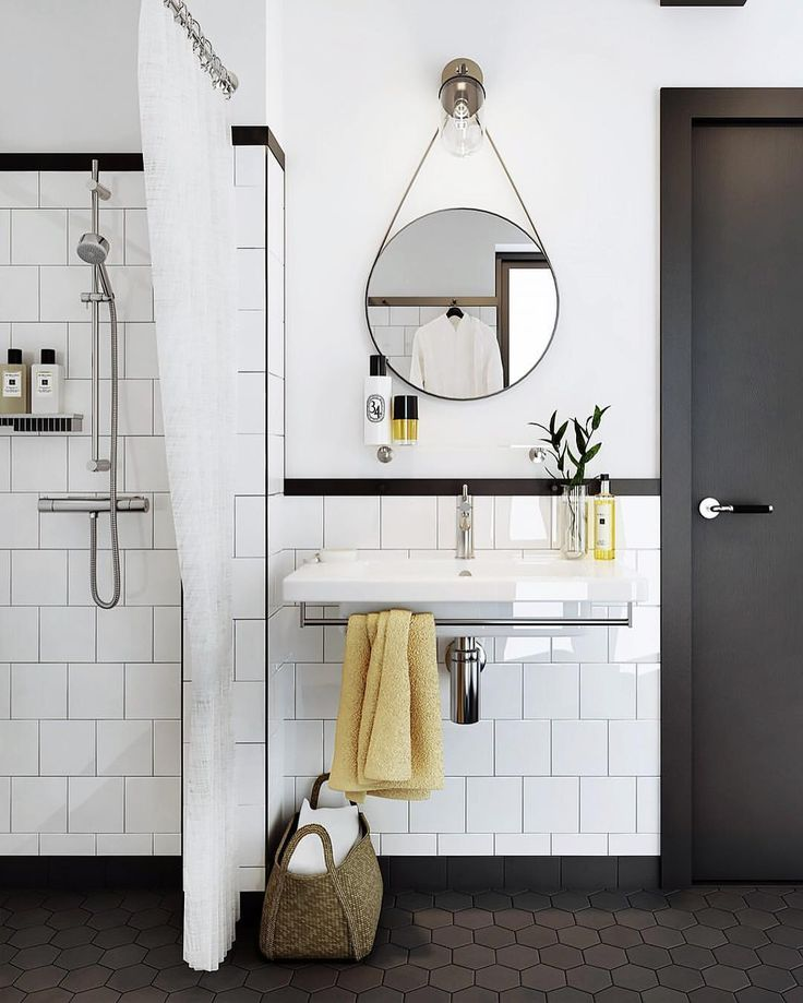 Browse Art Deco Bathroom design ideas and pictures. View project estimates, follow designers, and gain inspiration on your next home improvement project.  #ArtDecoBathroom #BathroomVanity