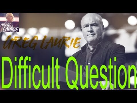 "Greg Laurie Sermons – ""Answering Difficult Questions – Dinner With Jesus"""
