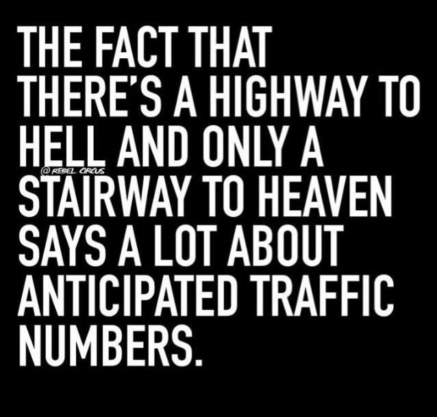 Laughing but truly this is serious! Heaven-bound; are you?
