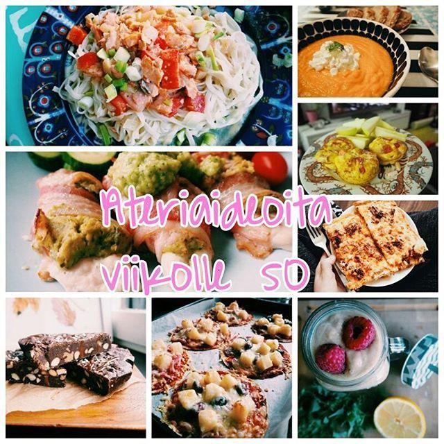 Blogissa ruokavinkkejä ensi viikolle 😊 #ateriavinkkejä #ruokavalio #arkiruoka #fitfashionfi