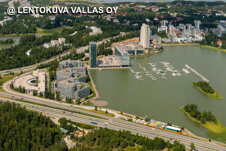 Espoo, Keilaniemi Ilmakuva: Lentokuva Vallas Oy